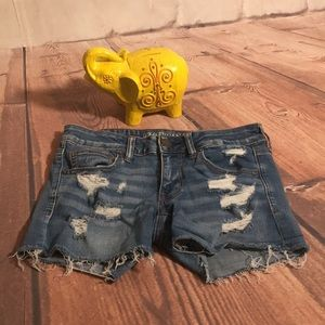American Eagle Outfitters Super Low Shortie Shorts